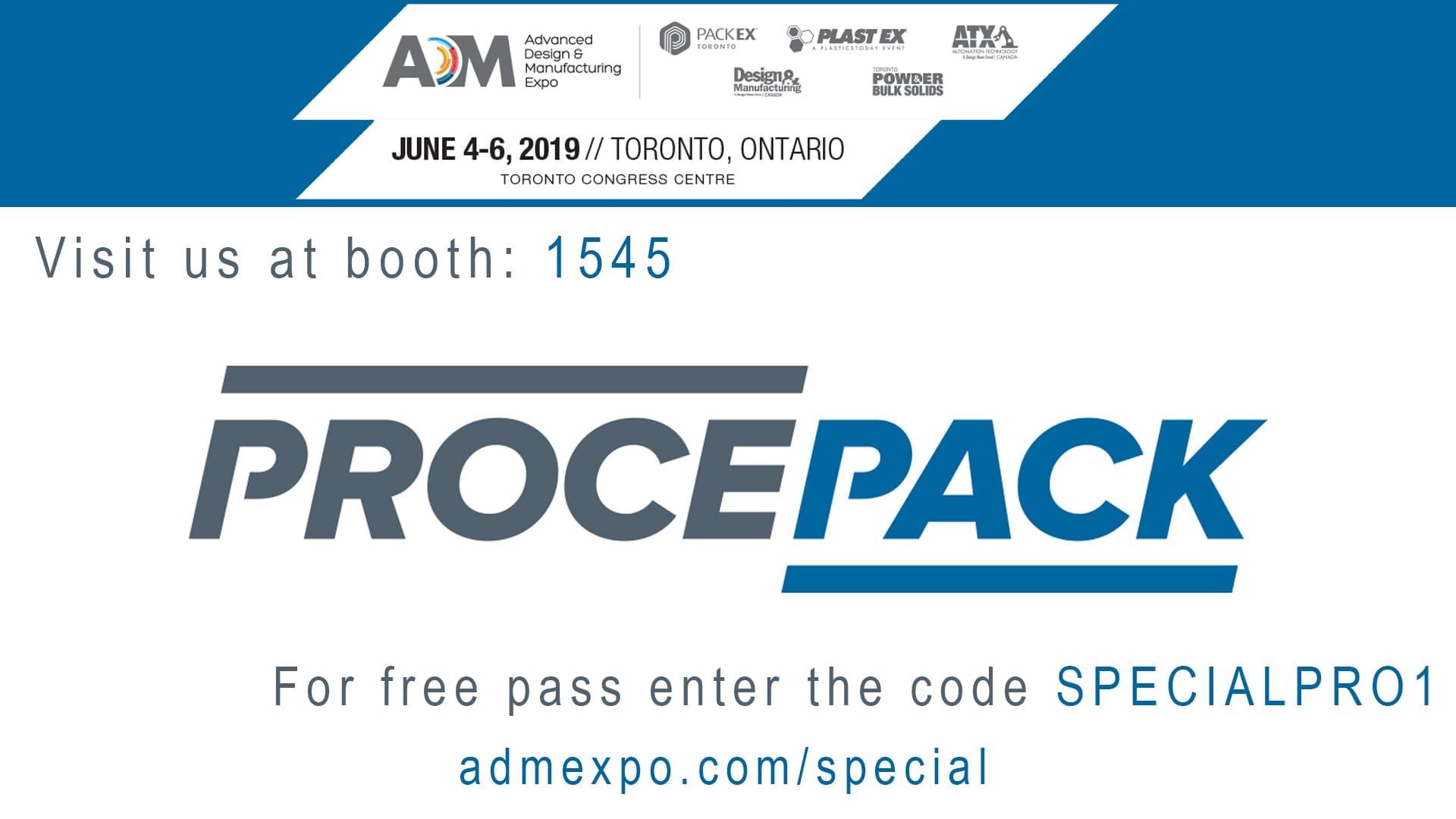 PackEx Toronto 2019